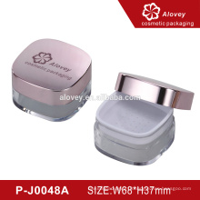 Cosmetic Packaging Loose Powder Container with Sifter