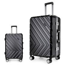 Fábrica de maletas trolley set de equipaje al por mayor.