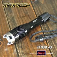 Ataque de Maxtoch DI6X-6 linterna cabeza Super linterna de LED de potencia