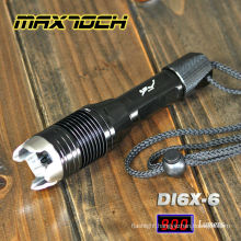 Maxtoch DI6X-6 Flashlight Attack Head Super Power LED Flashlight