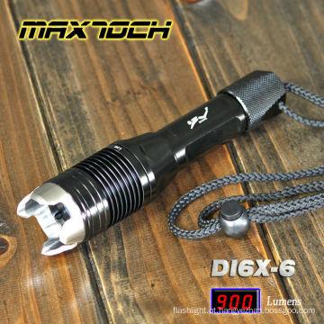 Maxtoch DI6X-6 lanterna de cabeça de ataque Super Power LED Lanterna