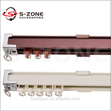 home aluminum panel curtain track for decor
