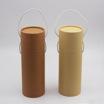 Custom Printed Cardboard Cylinder Gift Box