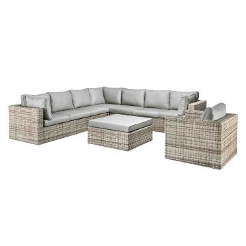 Wicker Garden Lounge Outdoor Patio Rattan Sofa Set