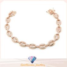 Moda jóias venda quente boa qualidade 925 pulseira de prata esterlina (BT6600)