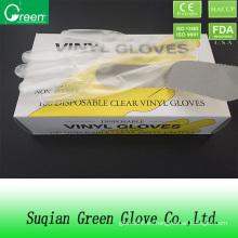 Guantes de fábrica / guantes desechables para alimentos
