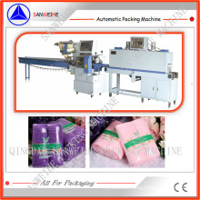 Towels Automatic Shrink Packing Machine (SWC-590 + SWD-2500)