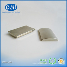 Strong Arc Shape Permanent Nedoymium Magnet for DC Motor