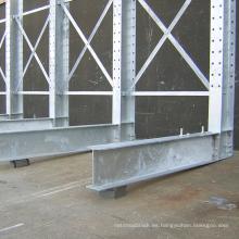 solución de almacenamiento de servicio pesado de voladizo con aplicación de decking / wire decking de alambre