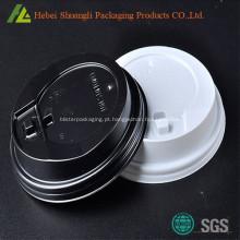 Tampas de copos de café plástico PS