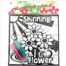 DIY-Malerei fuzzy druckbare leere Papier Puzzle