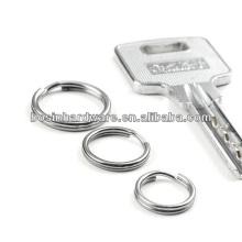 2015 novo produto de qualidade superior novo metal dividido anel para a chave