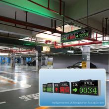 China Tela esperta inteligente do diodo emissor de luz da orientação dos lotes de estacionamento