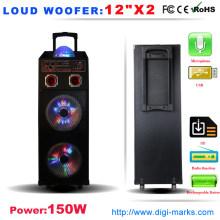 Populäre tragbare Stereo Bluetooth Mini PA Lautsprecher