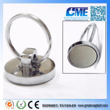35lb Rare Earth D32X7mm NdFeB Pot Magnets
