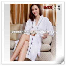 Average Size Stock Customized Logo Cheap Cotton Waffle Hotel Bath Robe