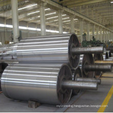Conveyor Belt Steel Ceramic Non-Drive/Head/Bend/Take up/Snub/Tail Rubber Lagging Drum Pulley  for Belt Width 400 mm