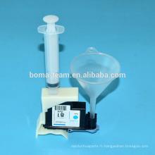 Outils de nettoyage de tête d'impression pour HP D5800 HP706 HP705 HP80 HP81 HP83 HP90 kits de recharge d'encre de tête d'imprimante