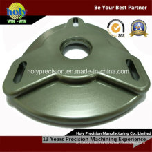 CNC-Bearbeitung Aluminium Camber Plate Bearing Carrier mit Anodized