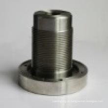 Peça de alumínio de bronze pequena