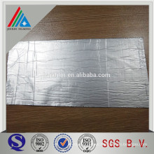 PE coated MPET for floor insulation
