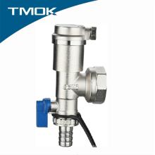 China hizo la válvula de cierre de cobre amarillo del separador de agua del hilo femenino con la certificación del CE en TMOK Valvula