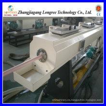 Línea de producción de tubos de PVC de gran diámetro, alta calidad y extrusora de tubos de alto rendimiento