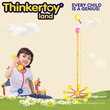 2015 Brinquedos educativos novos para blocos de construção plásticos dos miúdos