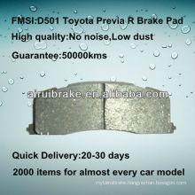 D501 metal Toyota Previa brake pad