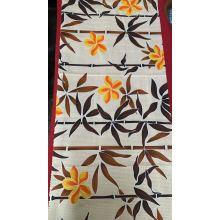 Tecido de impressão com tingimento personalizado com design de cortina