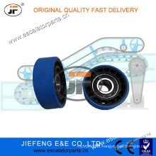 80028600 JFThyssen Escalator Step/Chain Roller 75*24mm 6204 Blue Color 1705060100 Escalator Roller