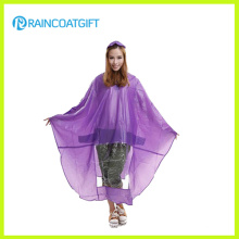 Poncho de pluie en PVC transparent pour vélo