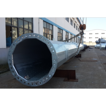 45m Electric Steel Tubular Pole