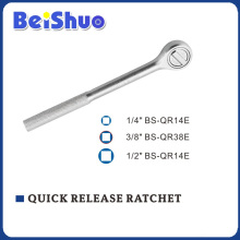 1/2′ 3/8′ 1/2′ Quick Release Ratchet Handle with Metal Handle