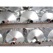Papel de aluminio con respaldo para envases de alimentos