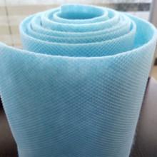 Malha plástica revestida de não tecido