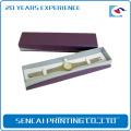 Custom logo handmade luxury cardboard paper watch box with lid