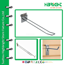 Slatwall euro looped double hook for surpermarket