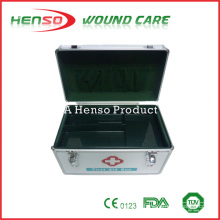 HENSO Strong Material Metal Empty First Aid Kit Box