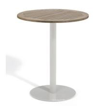 Polywood jardín de la rota de mimbre al aire libre barra muebles mesa