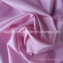 100% poliéster urdimbre tejido tejido impreso deslumbrante tela brillante