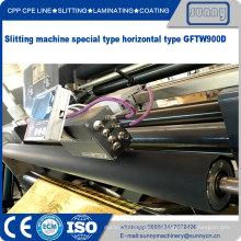 Máquina de corte de cinta adhesiva simple de ancho estrecho