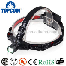 2014 cheapest cree Q5 3 watt rechargeable led headlamp