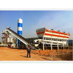 Industrial Stationary Stone Concrete Mixer For Sale