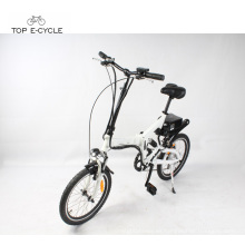 Bicicleta eléctrica barata plegable 28 km / h velocidad máxima bicicleta eléctrica y e-bike