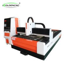 Máquina de corte a laser de fibra de aço inoxidável e aço carbono