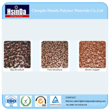 High Quality Electrostatic Spray Antique Copper Hammer Texture Powder Coating