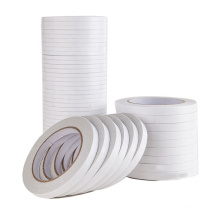 High Quality 10mm Width White Double Sided Tape Adhesive Sticky Tape For DIY Craft Projects,Card Making