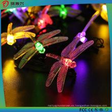 Dragonfly Solar Fairy LED Luces de cadena para exteriores