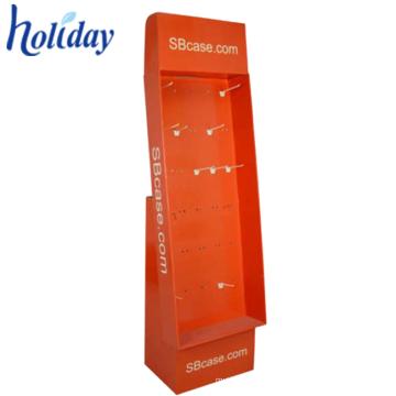 Armário de exposição de papel portátil da exposição do telefone móvel